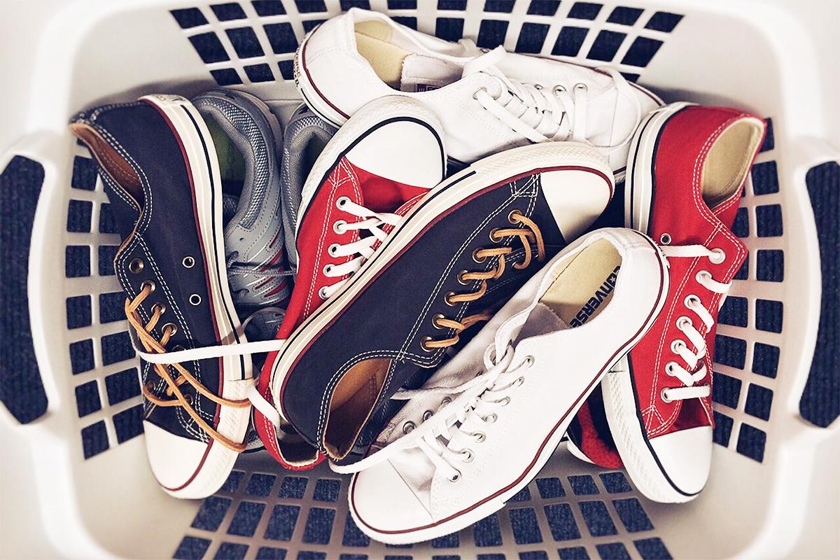 靴を整理する