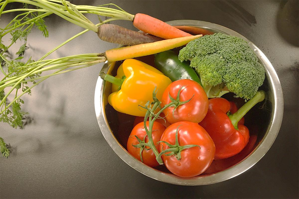 野菜のまとめ置き
