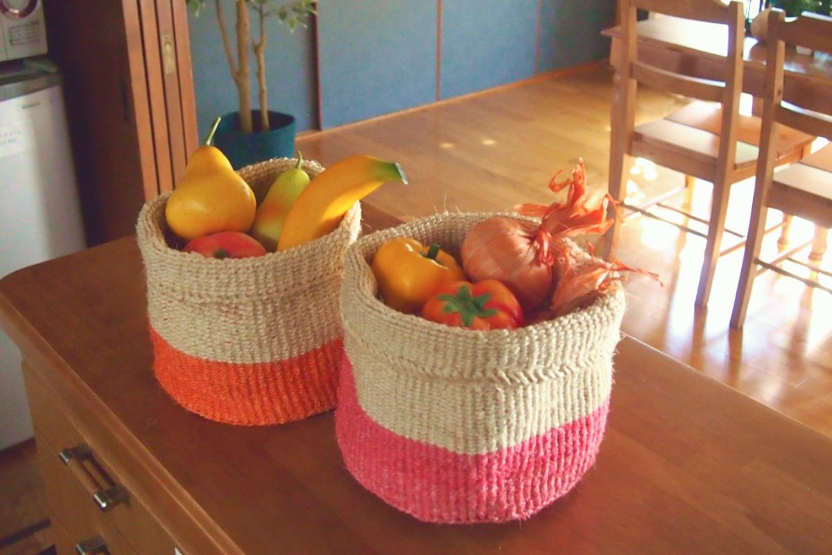 キッチンをおしゃれに飾るストッカー