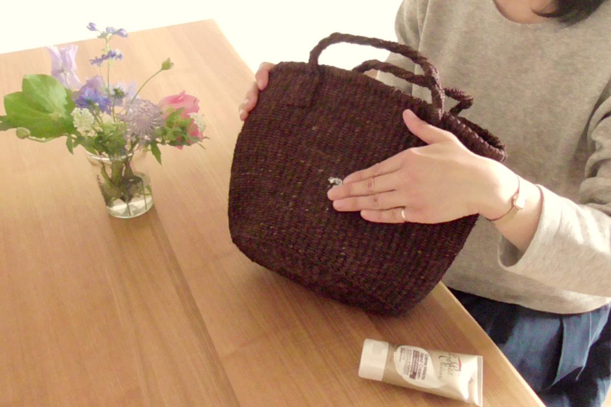 かごバッグの保管方法