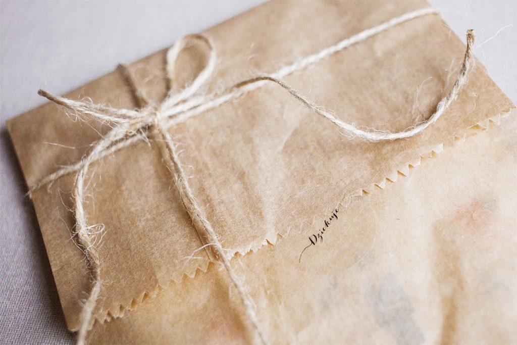 包装紙収納